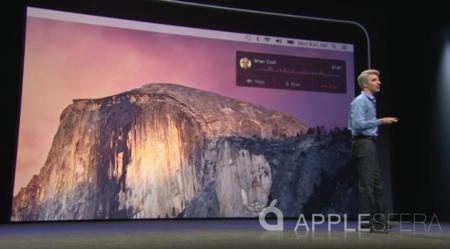 Apple combina iOS con OS X con Continuity