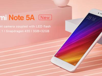 El nuevo Redmi Note 5A de Xiaomi ya está disponible por 144 euros