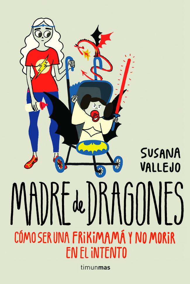 Portada de la novela 'Madre De Dragones' de Susana Vallejo.