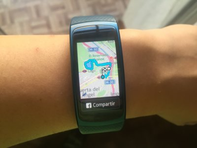 Samsung Gear Fit 2 a prueba: diseñada para entrenar al aire libre