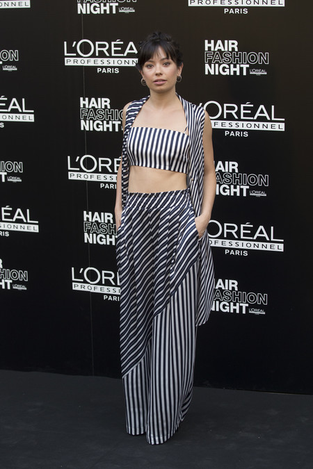 hair fashion night loreal paris madrid celebrities famosas Anna Castillo