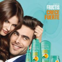 La lucha anticaída del cabello, más fácil con Garnier Fructis Crece Fuerte