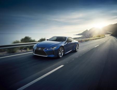 Lexus LC 500h, enseñando como deberían verse los híbridos