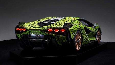 Lamborghini Sian Lego Escala Real