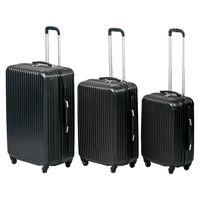 El set de tres maletas trolley semirigidas de ABS está rebajado a 59,99 euros en eBay