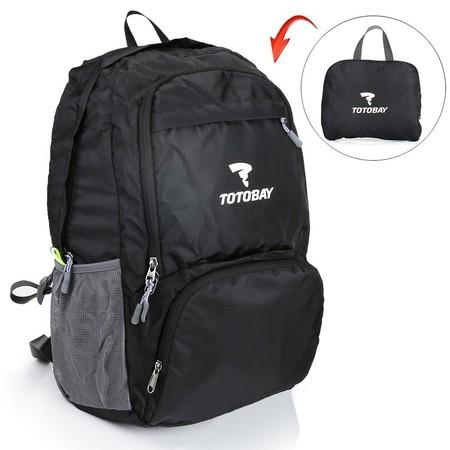 Oferta flash en la mochila plegable de 33 litros de capacidad Totobay: hasta medianoche cuesta 13,59 euros en Amazon