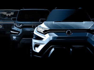 SsangYong XAVL concept, así se llamará el prototipo de SUV medio que veremos en el Salón de Ginebra