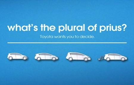¿Cuál es el plural de Prius?