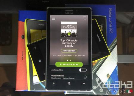 Spotify para Windows Phone se actualiza con rediseño y más