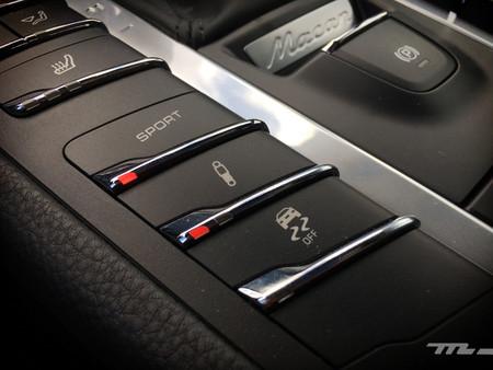 Porsche Macan botón Sport
