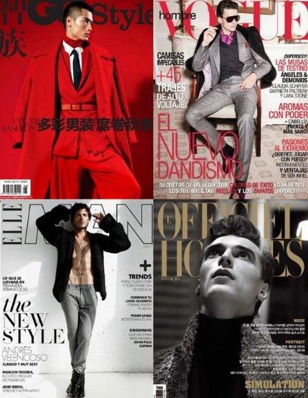Las mejores portadas de revistas masculinas de la temporada Otoño-Invierno 2011/2012