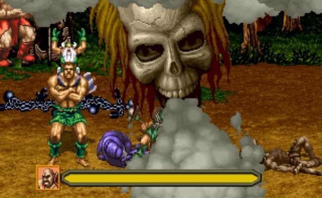 Golden Axe: The Revenge of Death Adder (SEGA)
