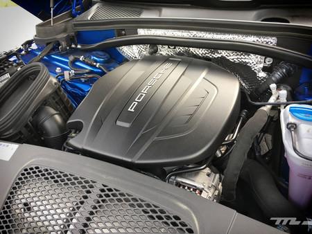 Porsche Macan cuatro cilindros motor