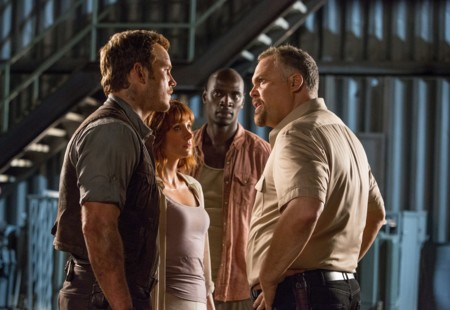 Chris Pratt, Bryce Dallas Howard, Omar Sy y Vincent D