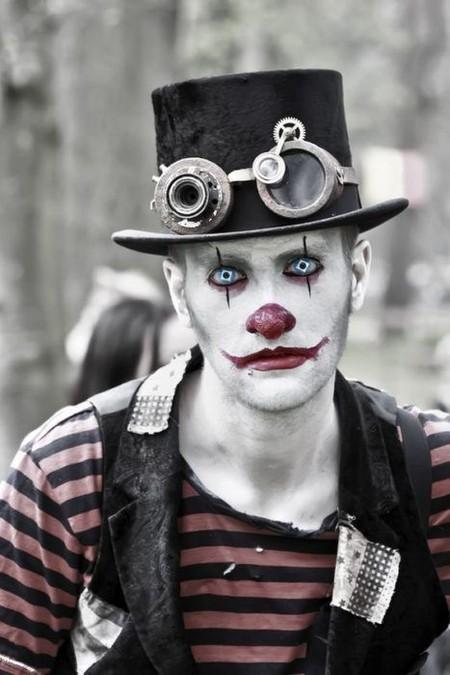 Halloween Make Up Guys Boys Maquillaje Disfraz
