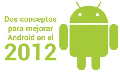 Dos conceptos para mejorar Android en el 2012
