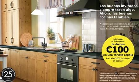 Cheque regalo de 100 euros en Ikea por cada 1.000 euros de compra