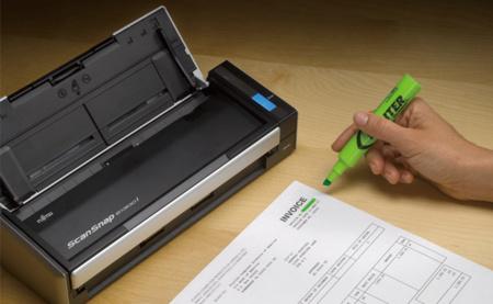 Fujitsu ScanSnap S1300i, un escáner portátil conectado a nuestras aplicaciones y la nube