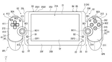 Sony tenía una patente similar al Switch desde 2015