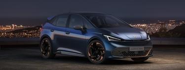 CUPRA el-Born: el primer coche eléctrico de la marca deportiva de SEAT llega con 500 km de autonomía