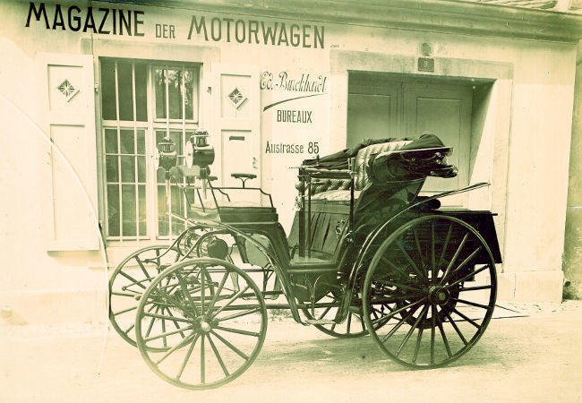 Benz Victoria 1892
