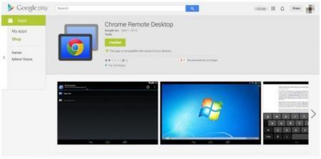 Chrome Remote Desktop disponible en beta privada