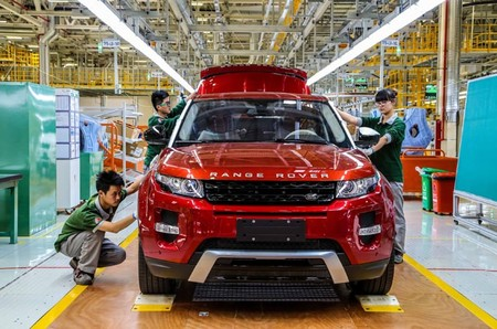 Jaguar Land Rover Planta China