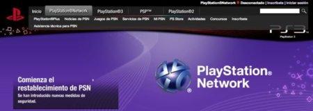 PlayStation Network ya está de vuelta: nuevo firmware 3.61