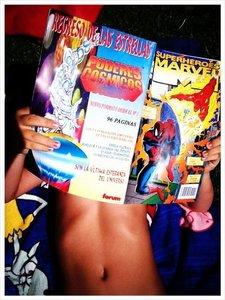Los niños también pueden leer cómics