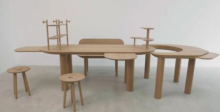Durante el confinamiento se trasladó un reto a nueve  diseñadores; diseñar una mesa y una silla atendiera a las necesidades del momento