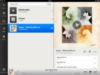 Spotify llega a iPad