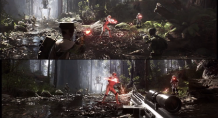Gameplay Star Wars Battlefront