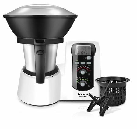 En Amazon tenemos el robot de cocina Taurus Mycook por 349 euros y envío gratis