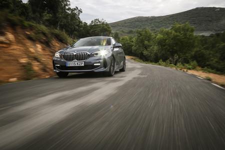 BMW Serie 1 2020 frontal acelerando