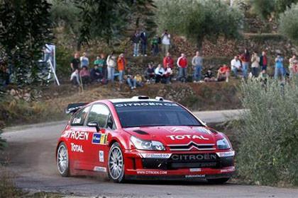 Loeb y Sordo mandan en el RallyRACC Catalunya