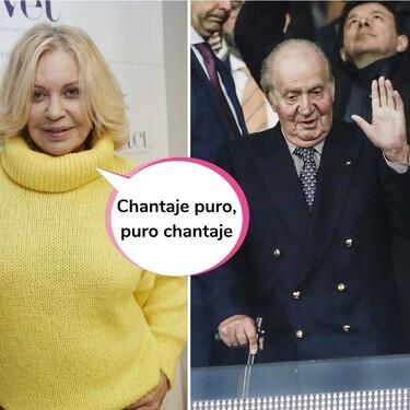 Sale a la luz la confesión de Juan Carlos I sobre cómo le chantajeó Bárbara Rey con unas imágenes comprometidas