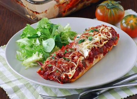 Enchilada De Pollo Y Tomate