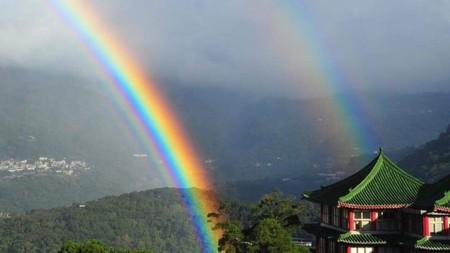 El arcoíris que duró casi 9 horas