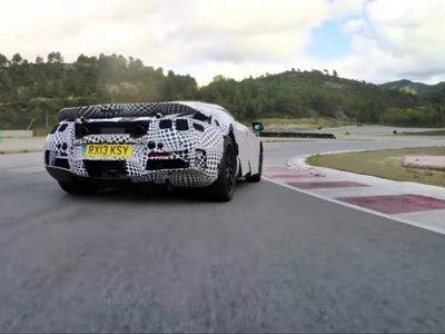 Así bailan los más de 640 CV del futuro McLaren 720S con el Variable Drift Control