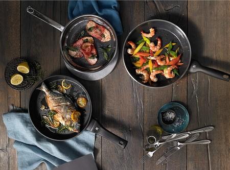 Ofertas del día en Amazon para nuestra cocina: descuentos en sets de sartenes San Ignacio, cafeteras Russell Hobbs y planchas Severin