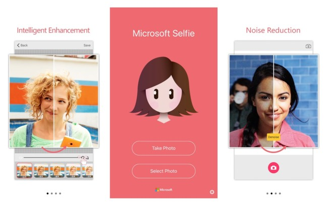 Ahora va Microsoft y hace una aplicación de selfies para el iPhone