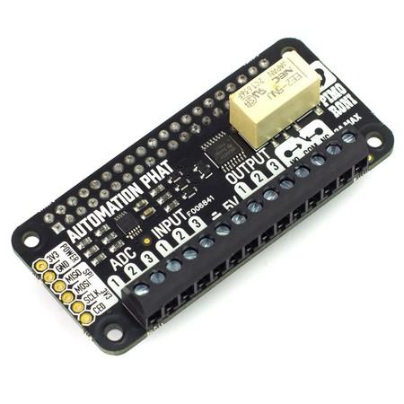 Automation pHAT, una excelente noticia para controlar nuestro hogar con la Raspberry Pi