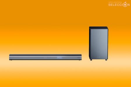 Sonido Dolby Atmos y 440W en tu Apple TV con la barra de sonido y subwoofer Sharp HT-SBW460, a 199,89 euros en Amazon, su mínimo