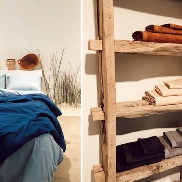 Mango estrena línea de hogar online con una colección de textiles para el dormitorio, el salón y el baño