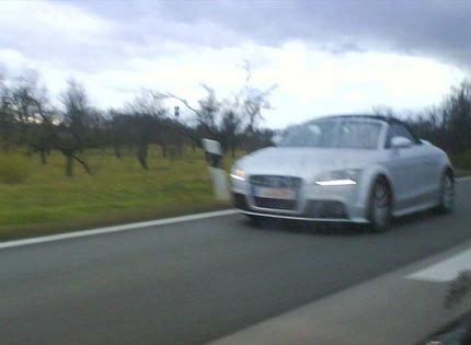 ¿Es esto el Audi TT-S Roadster?