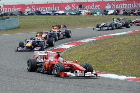 Fernando Alonso confiado de dar caza a los Red Bull
