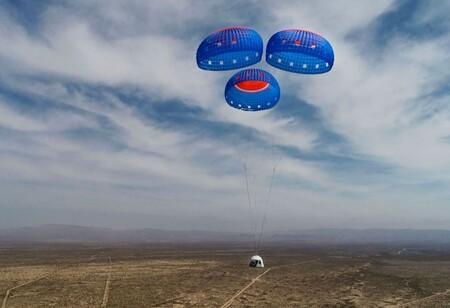 Blue Origin Subasta Espacio New Shepard
