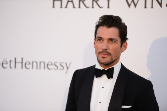 David Gandy Amfar 2015