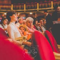 En el teatro