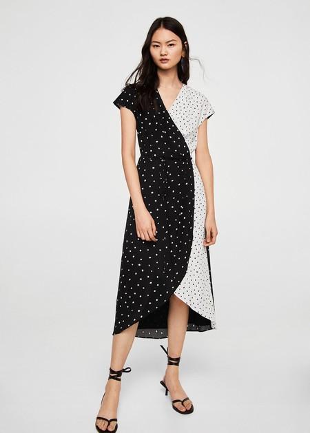 Vestido largo mango 2019